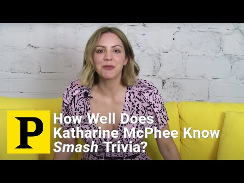 Smash Trivia with Waitress Star Katharine McPhee