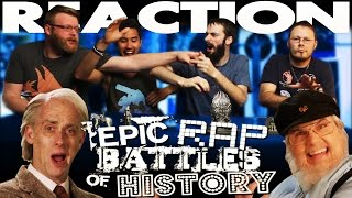 J.R.R. Tolkien vs George R.R. Martin. Epic Rap Battles of History REACTION!!