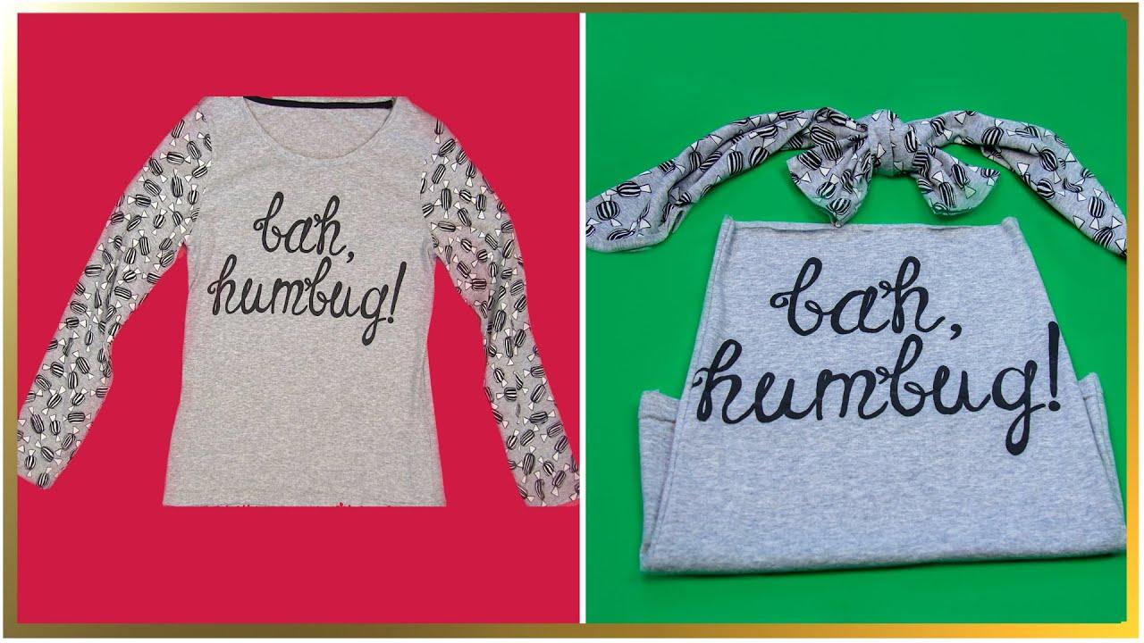 Ce faci cu hainele vechi? Iată o super idee de reciclare. Transformare în haine noi!
