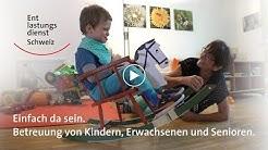 Entlastungsdienst Schweiz – Betreuung von Kindern, Erwachsenen und Senioren