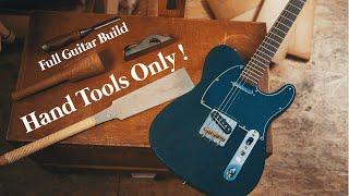Я построил гитару одной рукой
