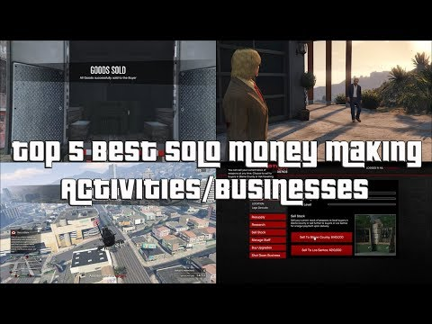 Gta online best way to make money solo 2020