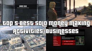 GTA Online Top 5 Best Solo Money Making Businesses And Activities