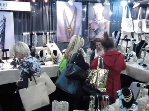 Mosh Fashion Los Angeles Gift show for fashion jewelry - YouTube