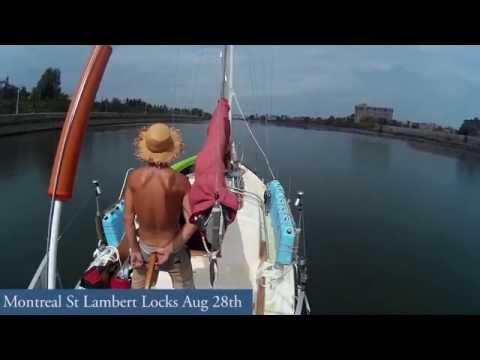 little sark fast travel - St Lambert locks