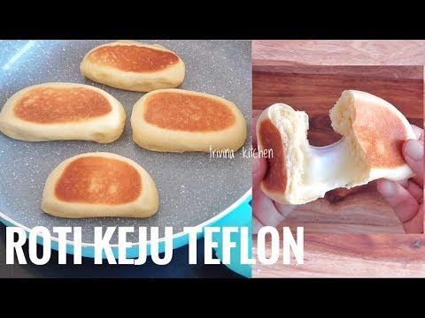 roti-keju-teflon-|-no-oven-mozzarella-cheese-bread-recipe-|-trivina-kitchen