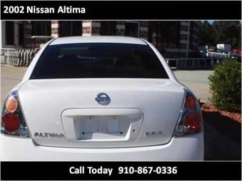 Used Cars Fayetteville Nc >> 2002 Nissan Altima Used Cars Fayetteville Nc