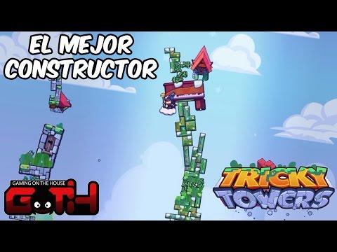 EL MEJOR CONSTRUCTOR! Tricky Towers en Español - GOTH