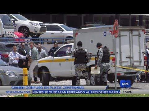 Crimen confuso en Plaza Centennial