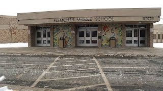 """Plymouth middle school has a robust arts program and teachers are proud to show it off.""""we do not lower our expectations [in academics], but today i wanted t..."""