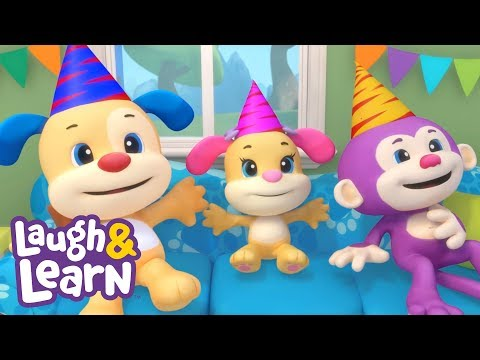 Laugh & Learn™ - Rainbow Party + More Kids Songs And Nursery Rhymes | Learning 123s