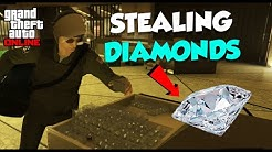 STEALING DIAMONDS IN 2-PLAYER STEALTH ($3,619,000 Potential) | GTA Online Casino Heist Walk-Through