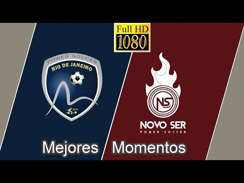 Rio Power Soccer 2 x 0 Novo Ser - Mejores Momentos