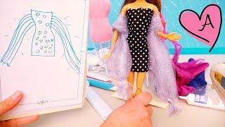 Diseños de moda e ideas para vestidos de Barbie | Muñecas y juguetes con Andre para niñas y niños thumbnail