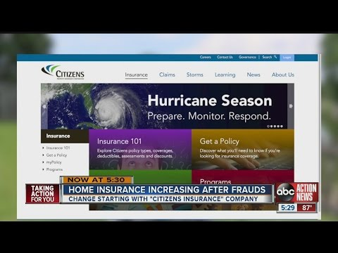 Home insurance increasing after frauds