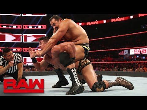 Rusev vs. EC3: Raw, Sept. 23, 2019
