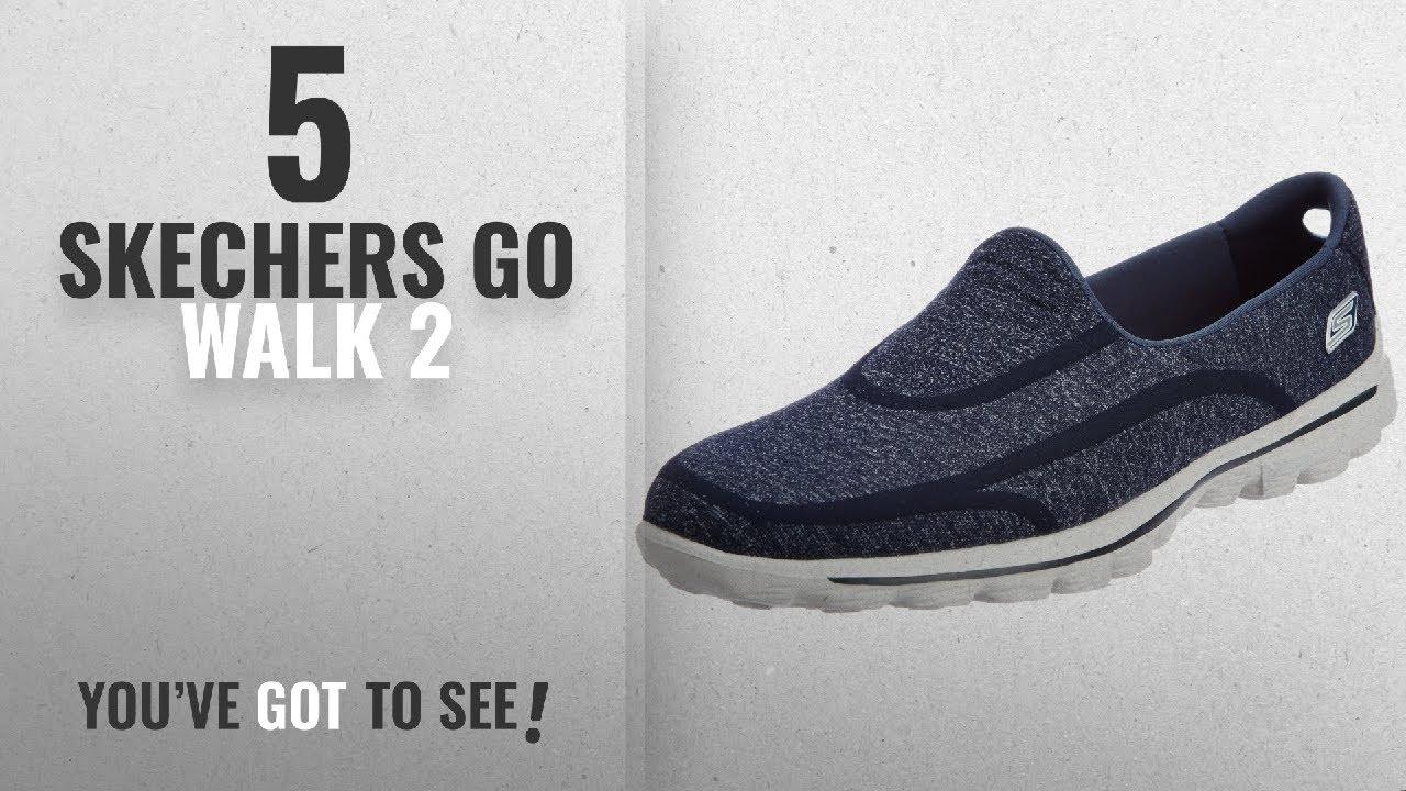 5585af3c6a26 Top 5 Skechers Go Walk 2  2018   Skechers Performance Women s Go Walk 2  Super Sock Slip-On Walking