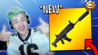 Streamers First Time Using *NEW* Silent Assault Rifle! | Fortnite Highlights & Funny Moments