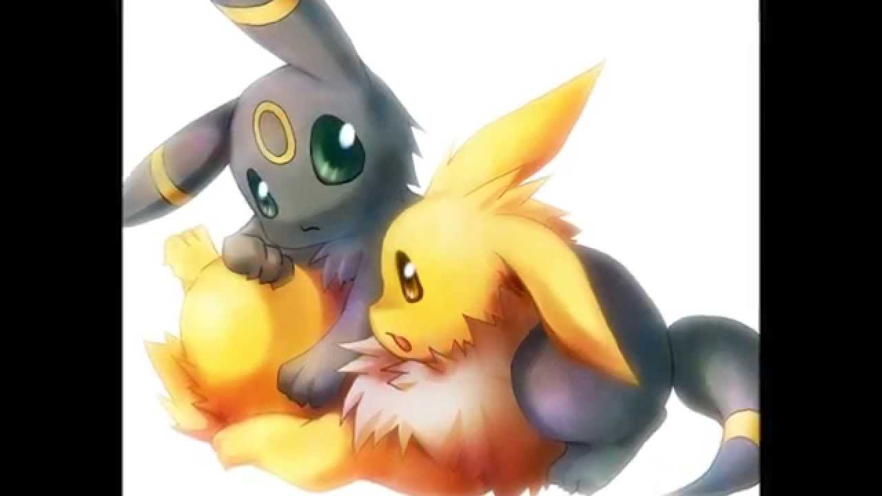 Umbreon x jolteon everytime we touch slow youtube