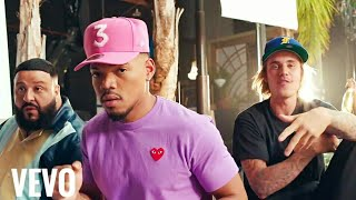 No brainer official video Justin bieber and dj khaled and chance the rapper and quavo
