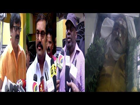 Celebrities about Senior Actor Vinu Chakravarthy   Vivek   Senthil   NNapoleon