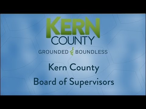 Kern County Board Of Supervisors 9:00 A.m. Meeting For Tuesday, March 31, 2020