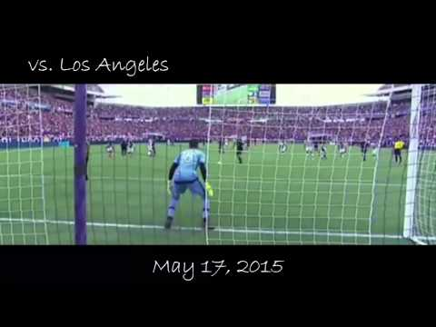 Ricardo Kaká ● First 10 Goals in Orlando City ● 2015