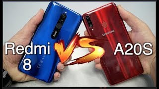 Samsung galaxy A20s Vs Xiaomi Redmi 8 Speed Test