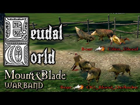 FEUDAL WORLD - Funny Noob Trolling Challenge ♞ Lets Play Mount&Blade Warband Feudal World Mod