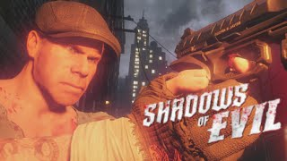 "Shadows of Evil SOLO FIRST ROOM CHALLENGE TheRelaxingEnd ""Black Ops 3 Zombies"""