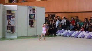 Шило Мария,2010г.р.,тр.Беликова А.Ф.,Первенство ДЮСШ № 5,г.Запорожье