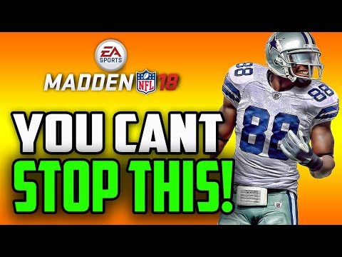 YOU CANT STOP THIS PASS PLAY! MADDEN 18 MONEY PLAY!