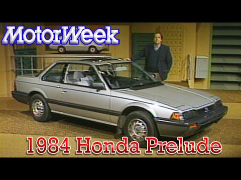 MotorWeek | Retro Review: '85 Honda Prelude - YouTube