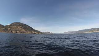 Okanagan Lake long boatcam run