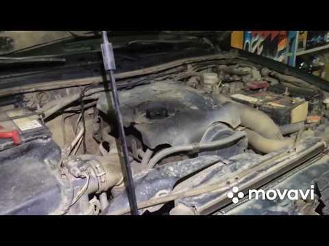 Замена масла в двигателе Mitsubishi L200