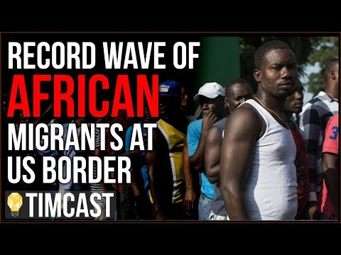 Record Wave Of African Migrants Reach US-Mexico Border, Complain Of Bad Conditions