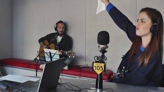 "Annalisa canta ""Roar"" di Katy Perry a @Radio105"
