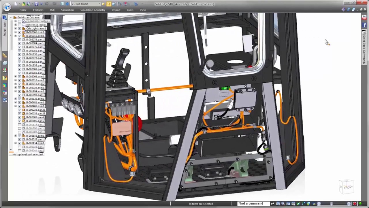 wire harness design and electrical routing in solid edge youtube pt cruiser wire harness edge wire harness [ 1280 x 720 Pixel ]