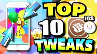TOP 10 BEST iOS 9 - 9.3.3 TWEAKS for iPhone, iPad, and iPod Touch (Cydia Tweaks - PanGu Jailbreak)