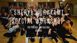 "SHERYL MURAKAMI ""The Phoenix""  Workshop in Sapporo"