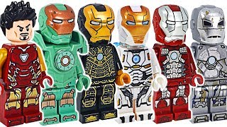 Avengers Iron Man suit army! All appeared! | DuDuPopTOY