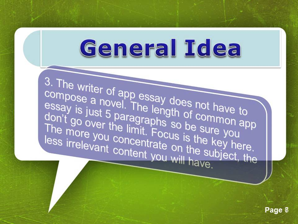 College Application Essay Format - YouTube
