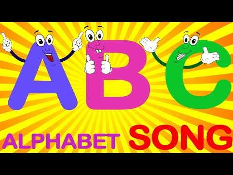 ABC песня и ABCD алфавит песни - ABC песни для детей - 3D ABC потешки