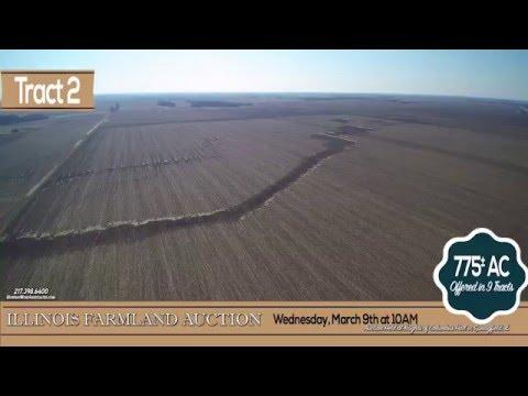 Western Sangamon County, Illinois Farmland Auction