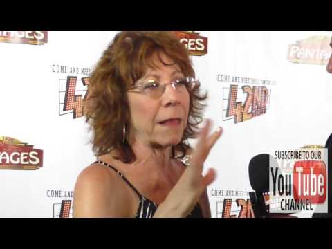 Mindy Sterling at the  Night Of 42nd Street at the Pantages Theatre in Hollywood