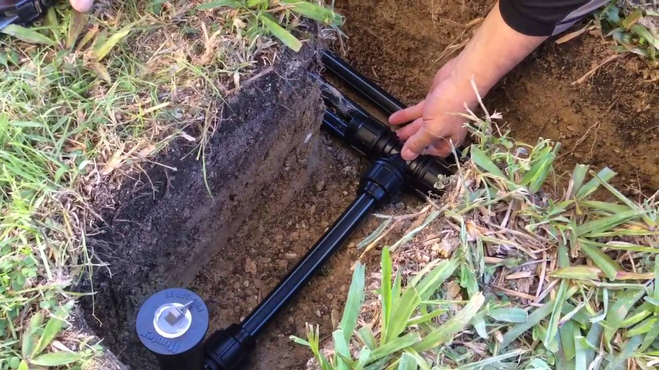 Installing Pop Up Sprinklers You