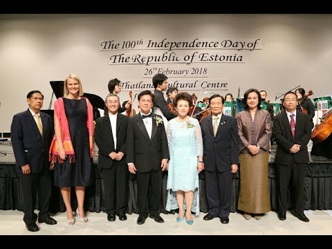 The 100th Independence Day of the The Republic of Estonia in Bangkok
