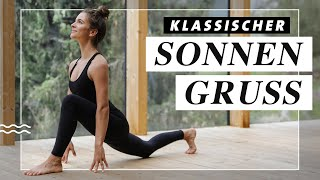 Klassischer Sonnengruss | Yoga Morgenroutine | 6 Runden Surya Namaskar