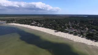France, Lac d'Hourtin et de Carcans