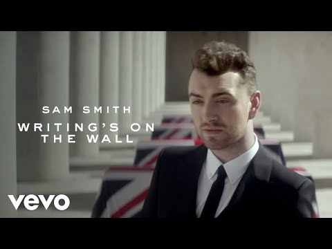 Sam Smith Writing's On The Wall (from Spectre) (official Video)